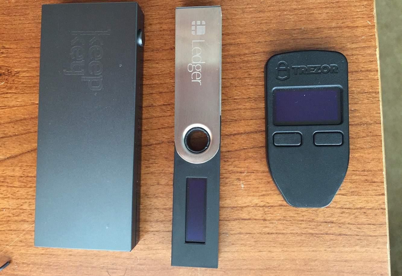 carteiras de hardware EOS