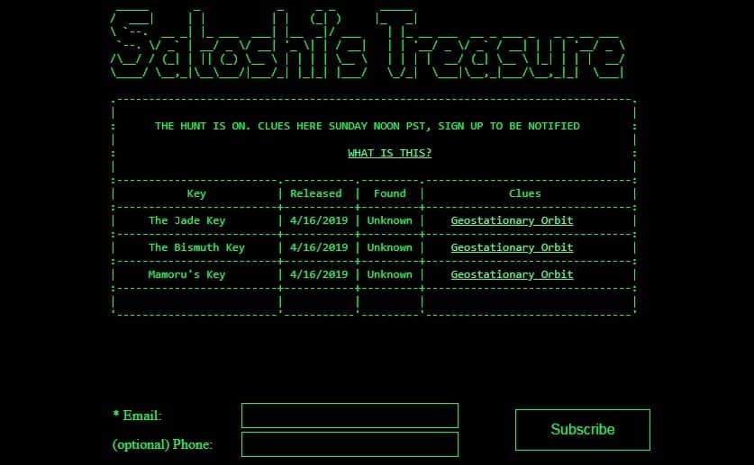satoshi's treasure bitcoin key