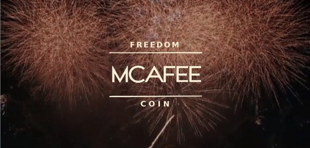 McAfee-Coin freedon coin