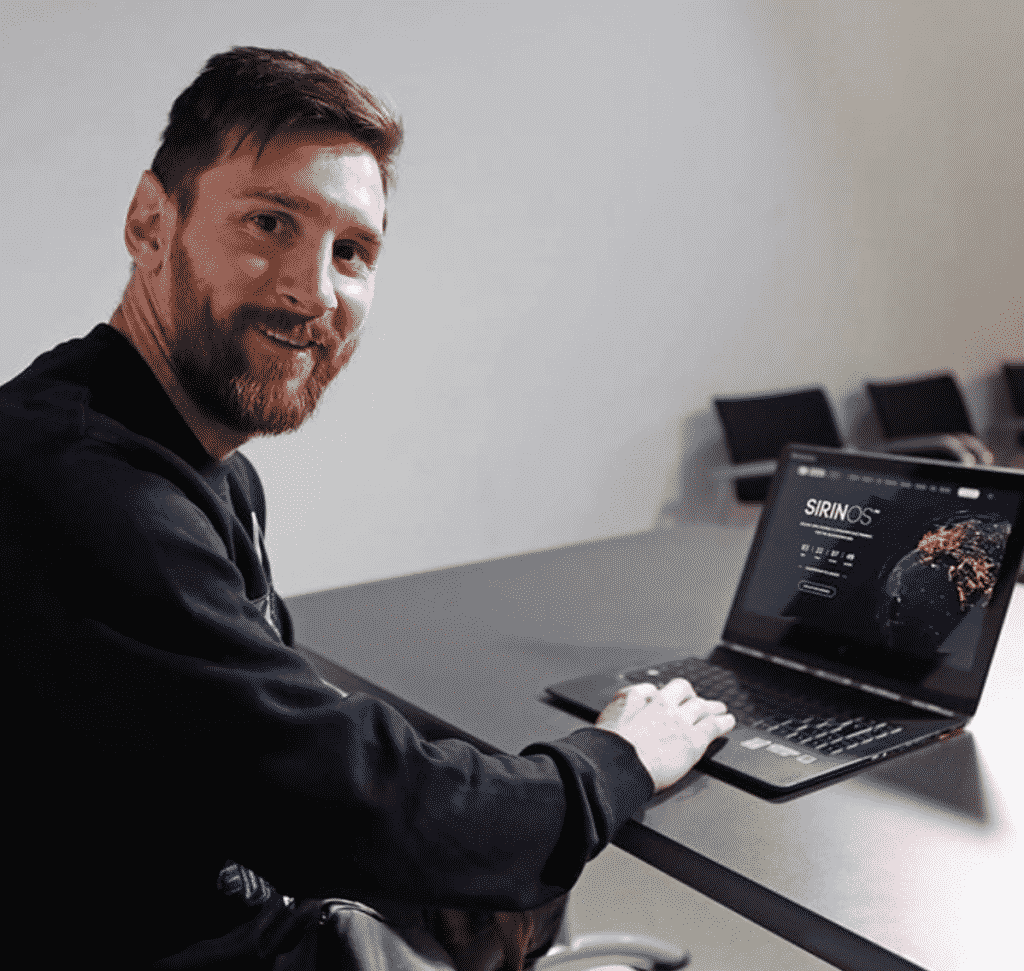 messi bitcoin sirinlabs