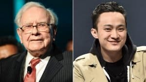 warren buffett justin sun china eua almoço tron