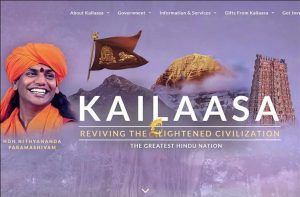 criptomoeda guru hindu nação país kailaasa nithyananda