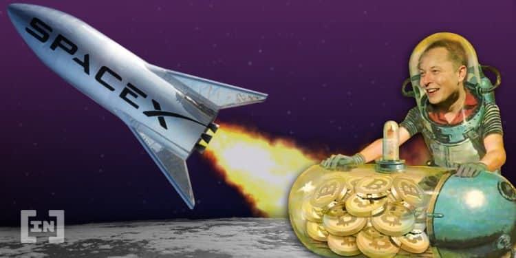 elon musk bitcoin carteira spacex criptomoedas