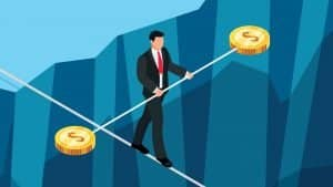 Stablecoins sobem no ranking de participação de mercado em meio a crise