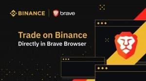 binance-brave-criptomoedas-bitcoin-negociação-trade-navegador