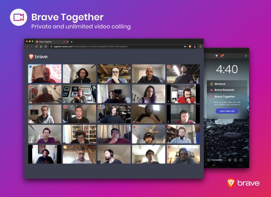 brave-together-zoom-videoconferencia-videochamadas-video-chamada-privacidade-blockchain