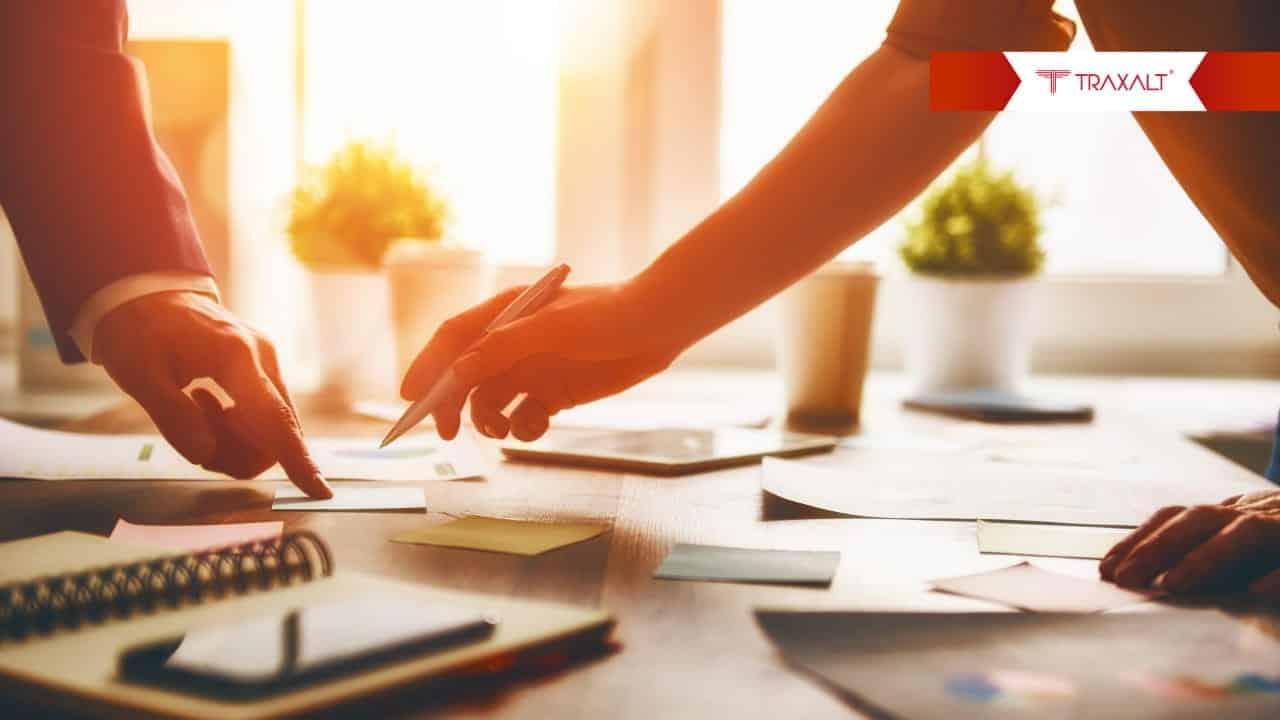 A solução do Traxalt está mudando a maneira de interagir entre as empresas
