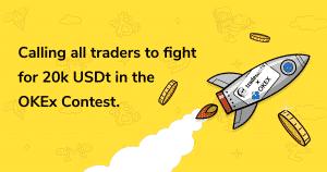 A OKEx oferece 150k USDt de prêmios em dinheiro