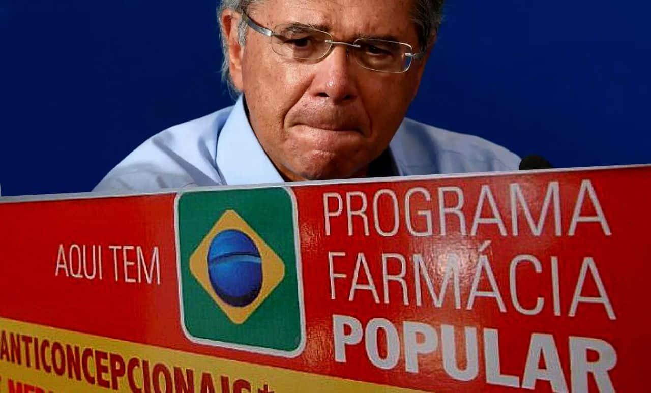 Paulo Guedes quer acabar com o Farmácia Popular e diz que programa é ineficiente