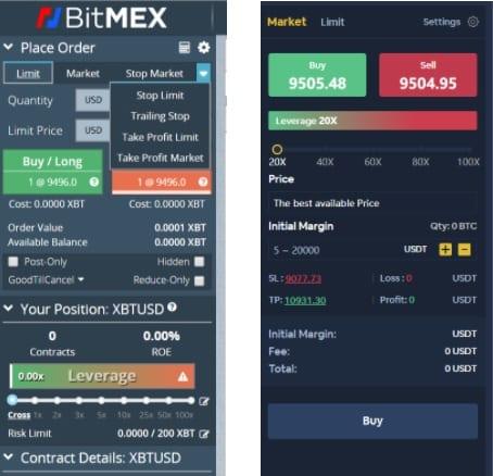 bitmex-bityard-negociação-contratos