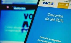 caixa-economica-voce-no-azul-campanha-dívidas-renegociar-90%-desconto