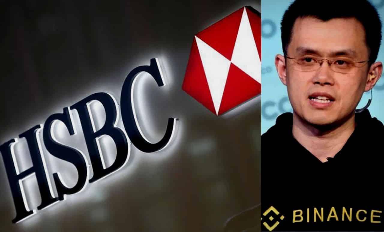 hsbc-binance-blockchain-tecnologia-plataforma-descentralizada-trade-trading-finanças-banco-binance-ceo