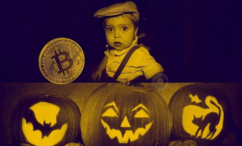 halloween-bitcoin-criptomoedas-doces-crianças-canadá-homem-distribui-btc