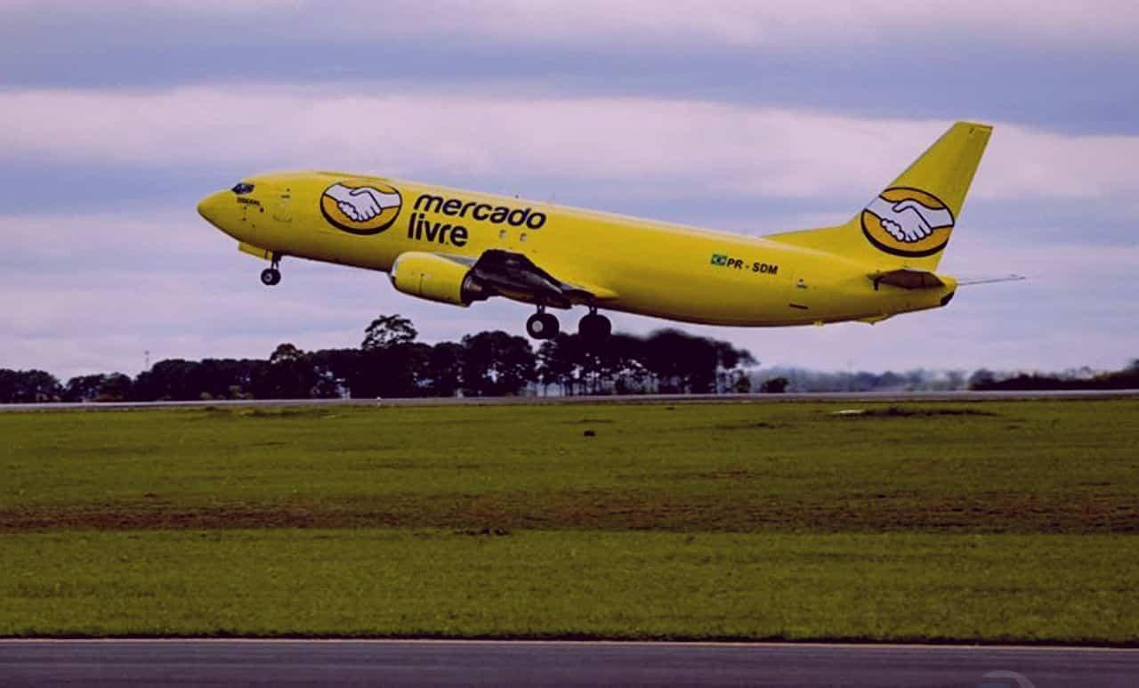 mercado-livre-frota-avião-aviões-aérea-ecommerce-novidade-entregas-brasil