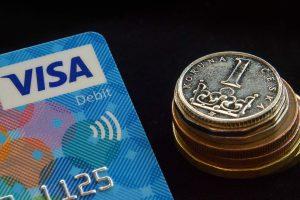 5 Cartões da Visa com recompensa gastar criptomoeda