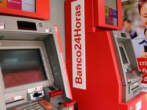 Caixas eletrônicos da rede Banco24Horas podem sacar criptomoedas no Brasil