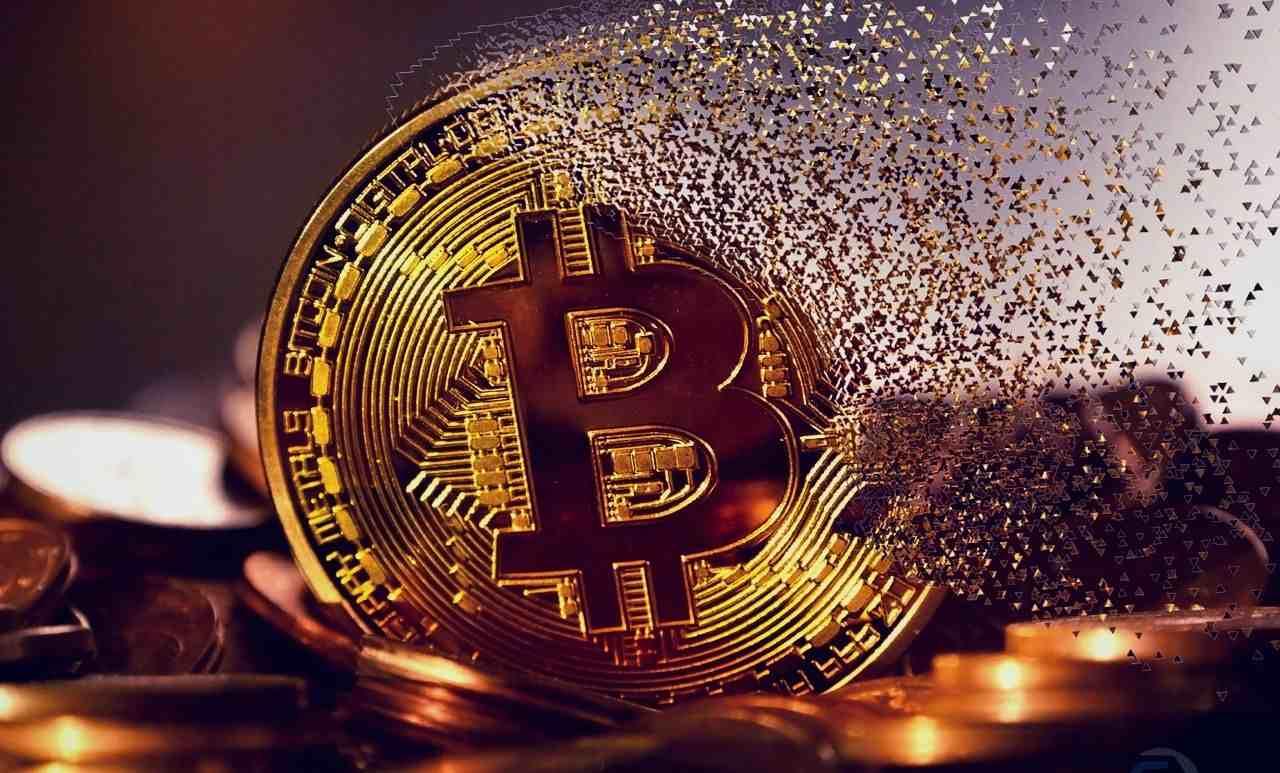 Comerciante de bitcoin com