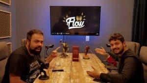 Flow Podcast lança criptomoeda para os fãs ajudarem o programa 