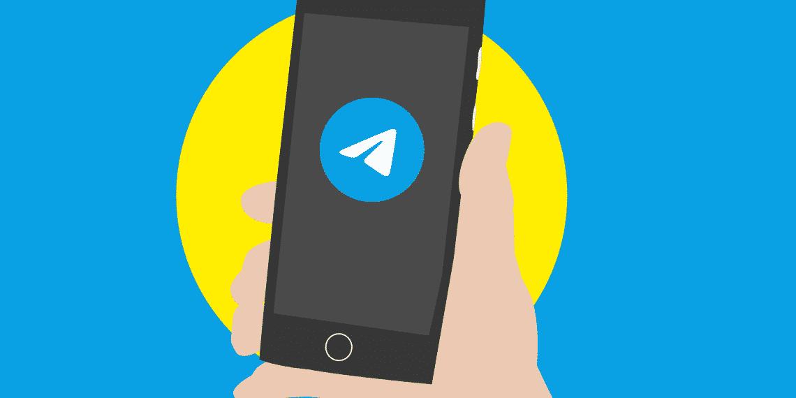 telegram mensagem