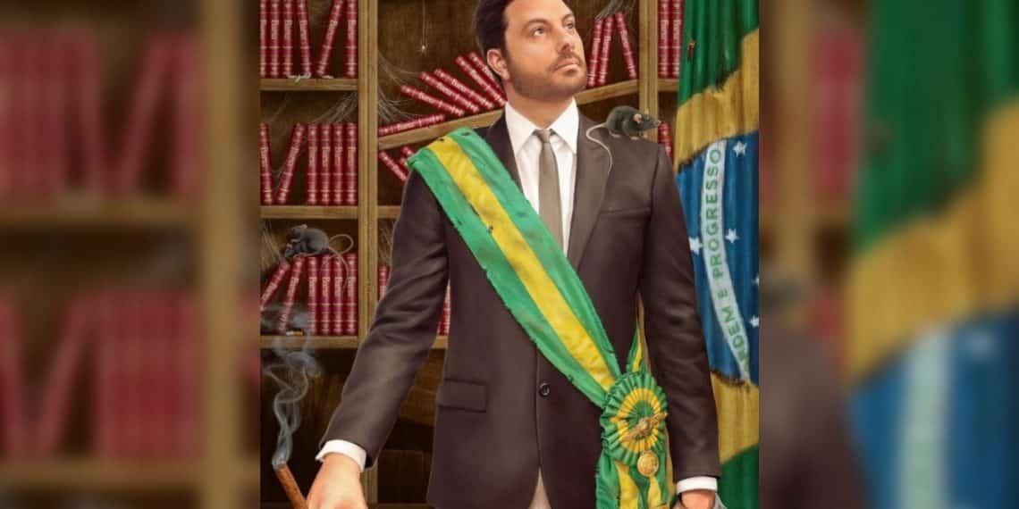 Comediante Danilo Gentili presidente - Bitcoin