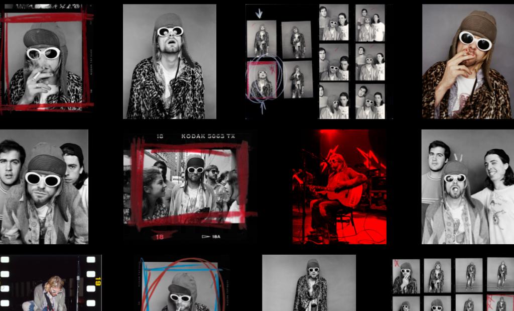 Fotos de Kurt Cobain NFT