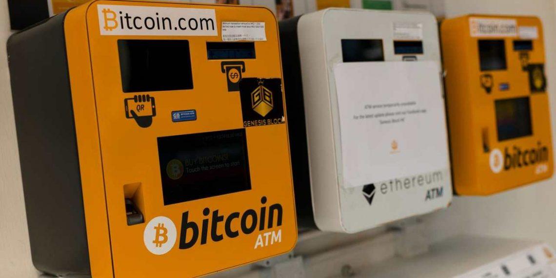 Caixa eletrônico (ATM) - Bitcoin
