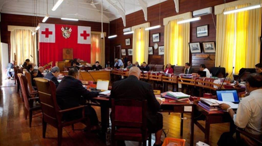 Parlamento de Tonga - Bitcoin